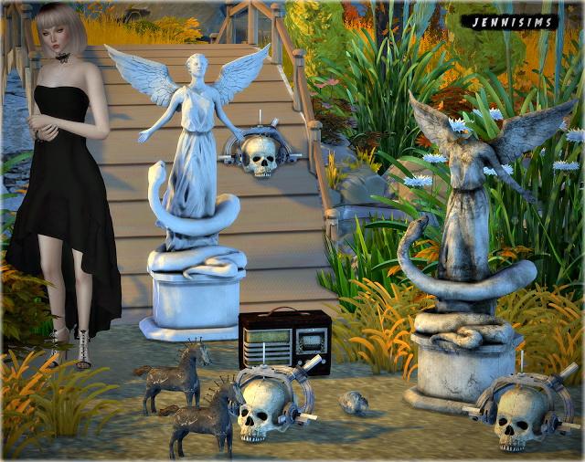 Sims 4 Decoratives Vol 33 5 items at Jenni Sims