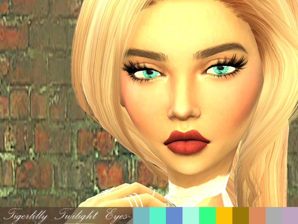 Twilight Eyes by tigerlillyyyy at TSR image 698 Sims 4 Updates