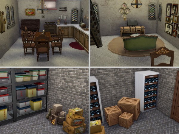 Sims 4 Little Granny Smith by DragonQueen at TSR