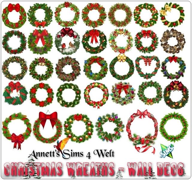 Christmas Wreaths Wall Amp Doors Amp Windows Deco At Annett S