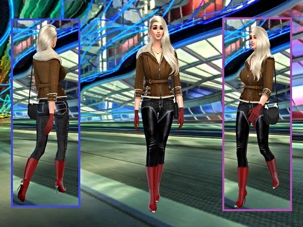 Barbara Moore by casmar at TSR image 726 Sims 4 Updates