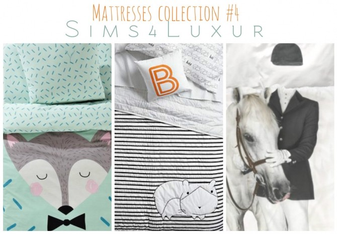Sims 4 Mattresses collection #4 at Sims4 Luxury