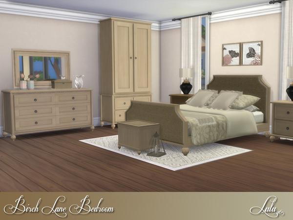 birch lane bedroom by lulu265 at tsr 187 sims 4 updates