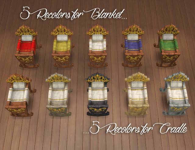 Royal Cradle Conversion from The Sims Medieval by Anni K at Historical Sims Life image 7713 Sims 4 Updates