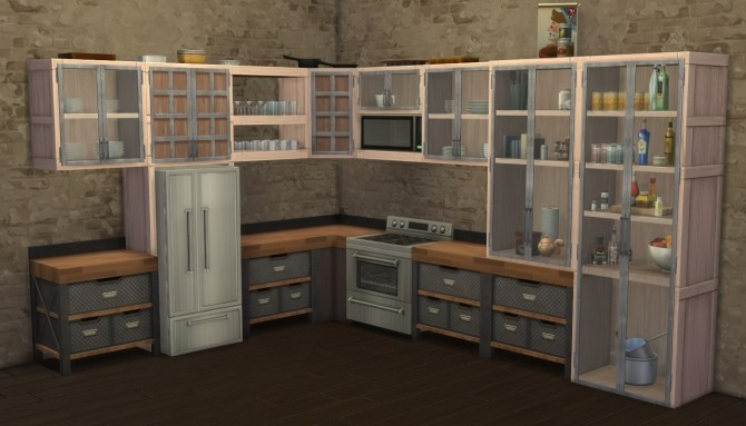 VAULT Cabinets Expansion by Madhox at Mod The Sims image 798 670x383 Sims 4 Updates