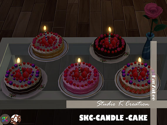 SKC Candle cake at Studio K Creation image 8015 Sims 4 Updates