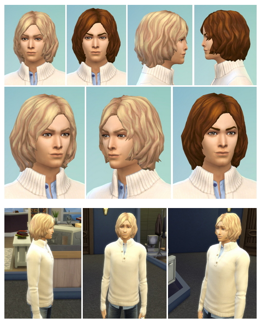 Sims 4 BoymeetsGirl Hair at Birksches Sims Blog