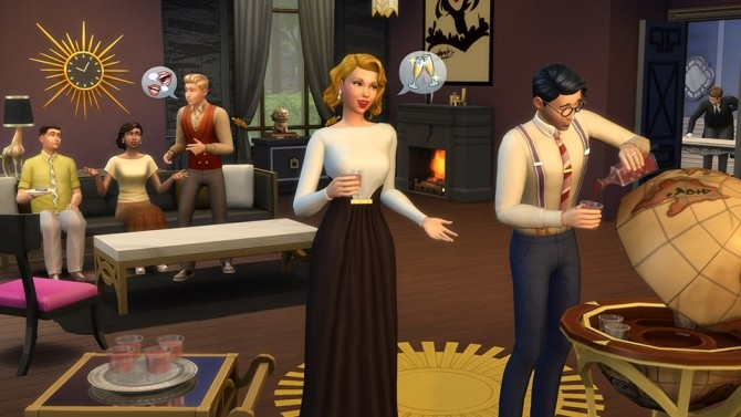The Sims 4 Vintage Glamour Stuff Pack announced at The Sims™ News image 8317 670x377 Sims 4 Updates