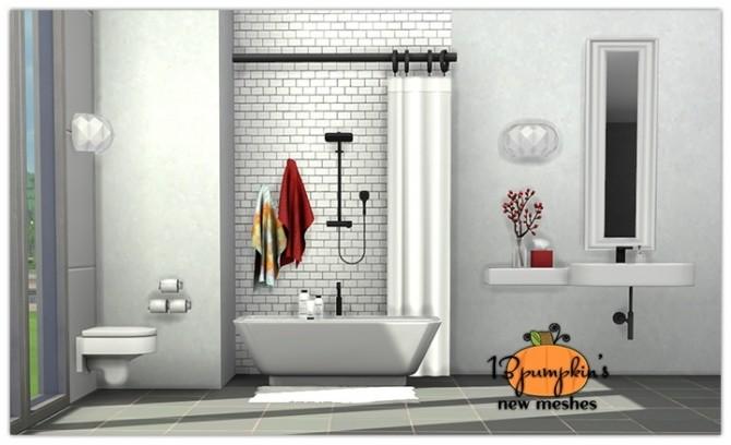 Senza Bathroom at 13pumpkin31 image 845 670x408 Sims 4 Updates