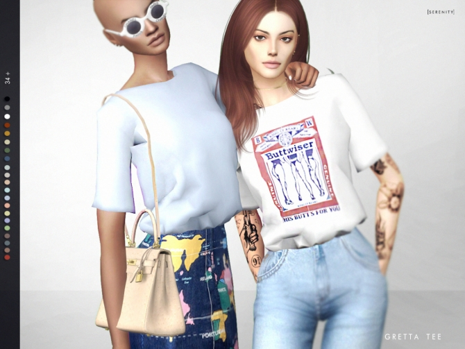 Gretta Tee At Serenity 187 Sims 4 Updates