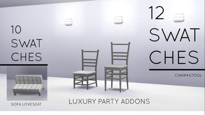 Sims 4 Luxury Party Addons by MrMonty96 at Mod The Sims