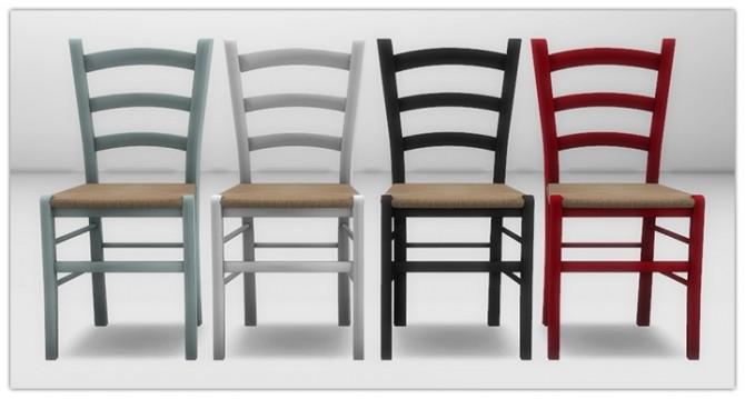 Sims 4 Rustic bar stool and dining chair at 13pumpkin31