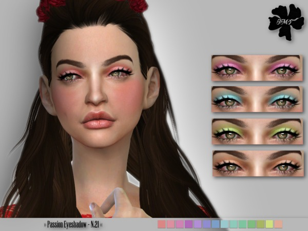 IMF Passion Eyeshadow N.21 by IzzieMcFire at TSR image 915 Sims 4 Updates
