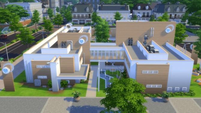 Sims 4 Royal Maxis Hospital 2.0 at RomerJon17 Productions