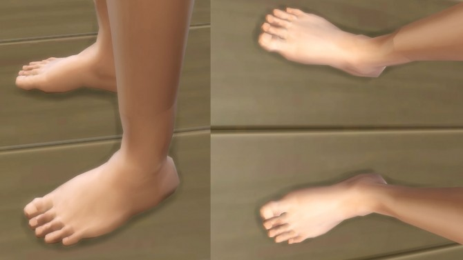 Hd feet v2 no nails by necrodog at mod the sims sims 4 updates hd feet v2 no nails by necrodog at mod the sims voltagebd Image collections