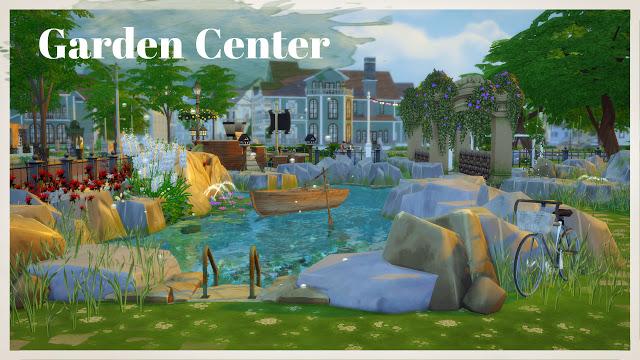 Sims 4 Garden Center at Dinha Gamer