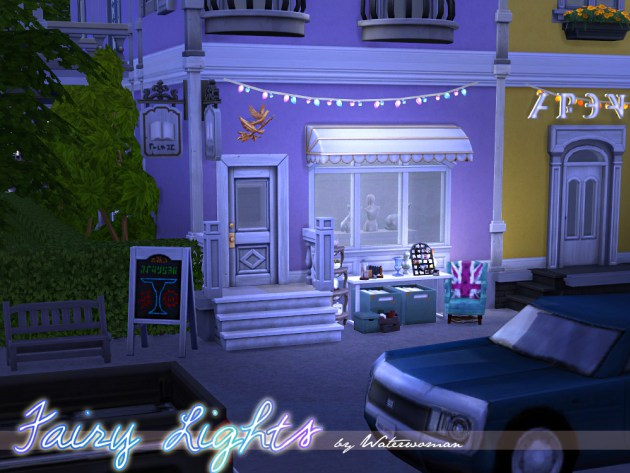 Fairy Lights By Waterwoman At Akisima 187 Sims 4 Updates