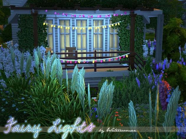 Fairy Lights By Waterwoman At Akisima 187 Sims 4 Updates