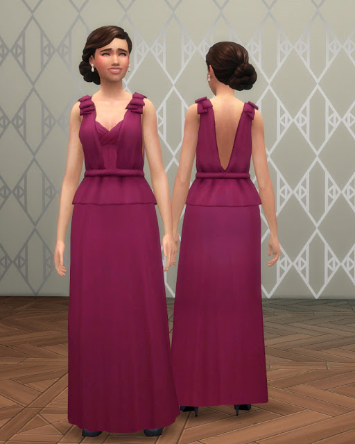 Beatrice Evening Gown at Historical Sims Life image 10017 Sims 4 Updates