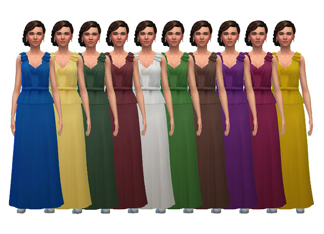 Beatrice Evening Gown at Historical Sims Life image 10122 Sims 4 Updates