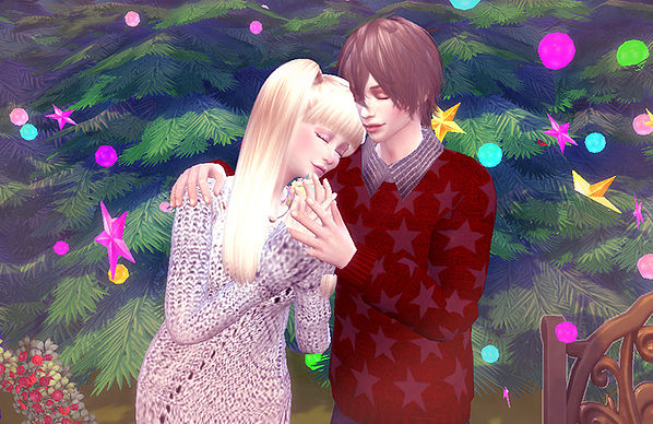 Couple pose 04 at A luckyday image 10214 Sims 4 Updates