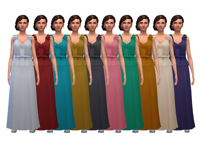 Beatrice Evening Gown at Historical Sims Life image 10219 Sims 4 Updates