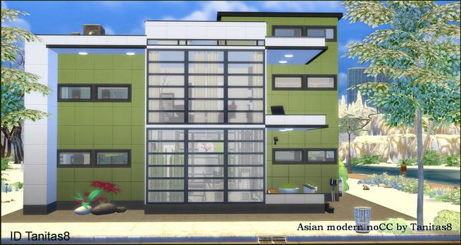 Asian modern house noCC at Tanitas8 Sims » Sims 4 Updates