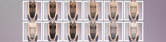 Sims 4 EP03 Mesh Shirt at Busted Pixels