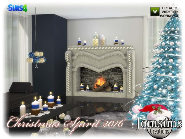 Christmas spirit 2016 set by jomsims at TSR image 1040 Sims 4 Updates