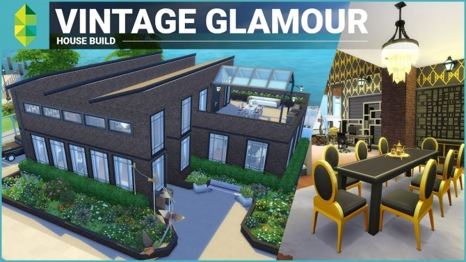 5 Great Vintage Glamour Speed Builds at The Sims™ News image 104101 670x377 Sims 4 Updates