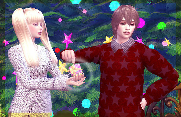 Couple pose 04 at A luckyday image 10411 Sims 4 Updates