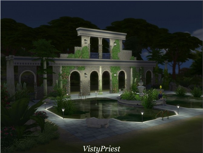 Ancient baths at Visty Creations image 10412 670x504 Sims 4 Updates