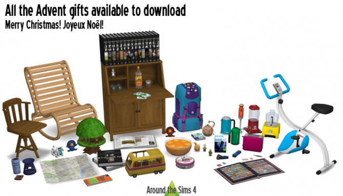 Advent Calendar Gifts At Around The Sims 4 187 Sims 4 Updates