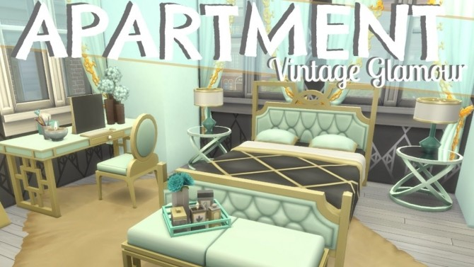 5 Great Vintage Glamour Speed Builds at The Sims™ News image 10510 670x377 Sims 4 Updates