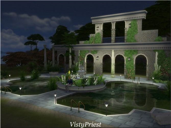 Ancient baths at Visty Creations image 10512 670x504 Sims 4 Updates
