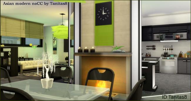 Asian modern house noCC at Tanitas8 Sims image 1054 Sims 4 Updates