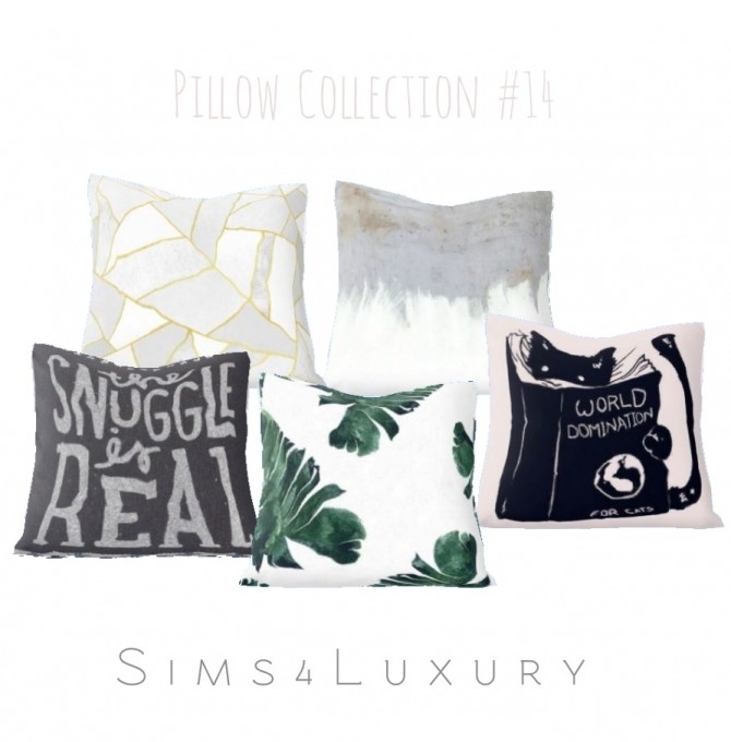 New deco items at Sims4 Luxury Sims 4 Updates