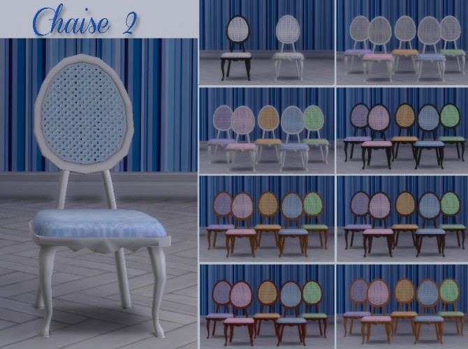 Médaillon diningroom by Maman Gateau at Sims Artists image 10810 670x500 Sims 4 Updates