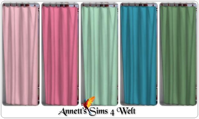Sims 4 Maritim TS3 to TS4 Curtains at Annett's Sims 4 Welt