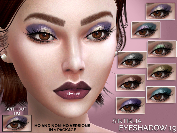Sims 4 Eyeshadow 19 by Sintiklia at TSR