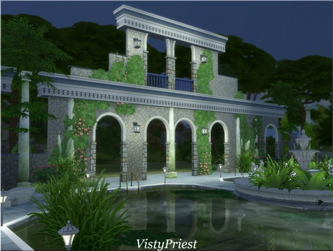 Ancient baths at Visty Creations image 10912 670x504 Sims 4 Updates