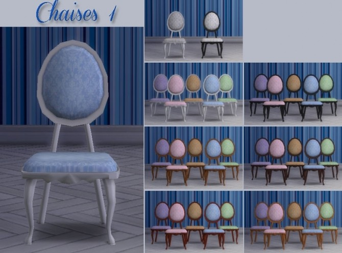 Sims 4 Médaillon diningroom by Maman Gateau at Sims Artists