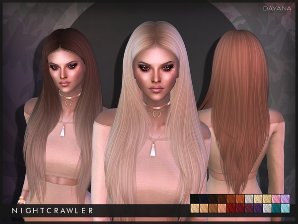 Dayana hair by Nightcrawler at TSR image 1103 Sims 4 Updates