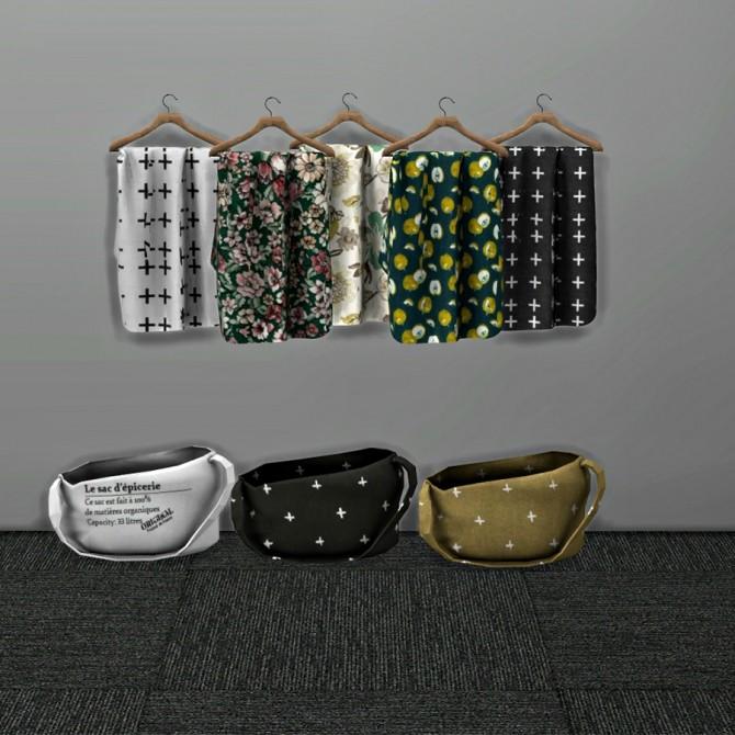 Sims 4 Bag And Hanging Cloth at Leo Sims