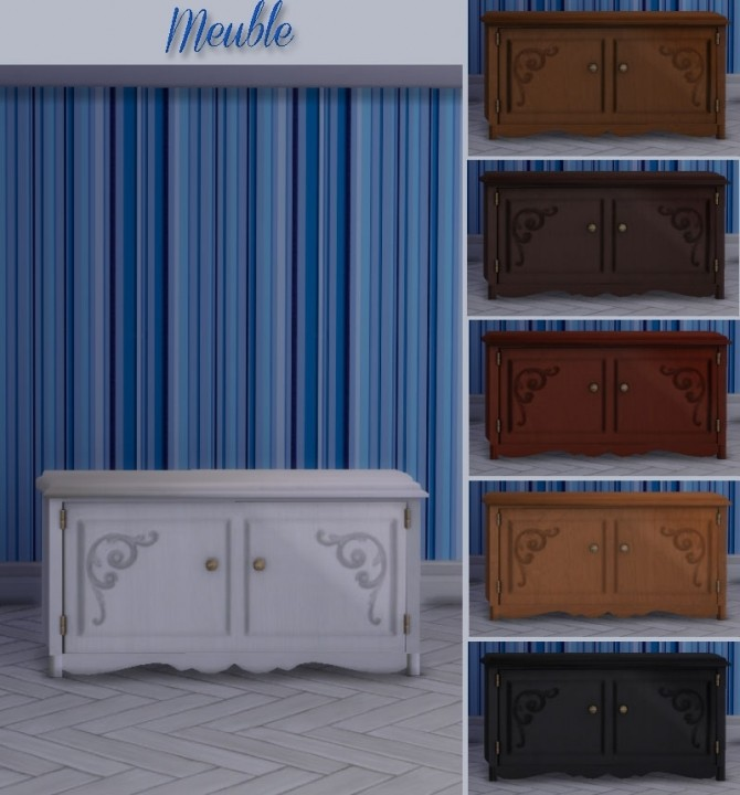 Médaillon diningroom by Maman Gateau at Sims Artists image 11118 670x720 Sims 4 Updates