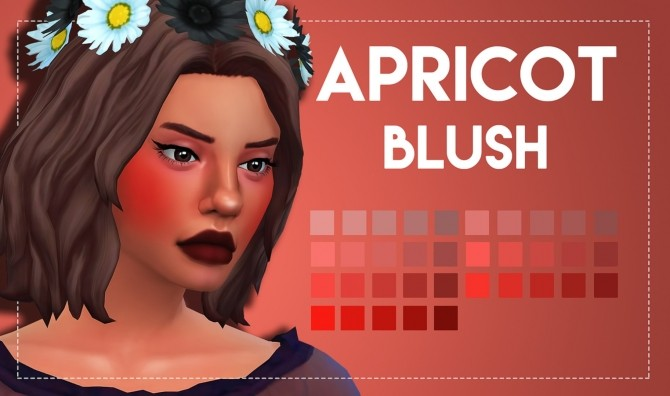Apricot Blush by Weepingsimmer at SimsWorkshop image 11119 670x396 Sims 4 Updates