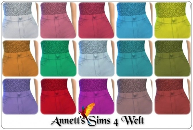 Sims 4 City Outfit Part 3 at Annett's Sims 4 Welt