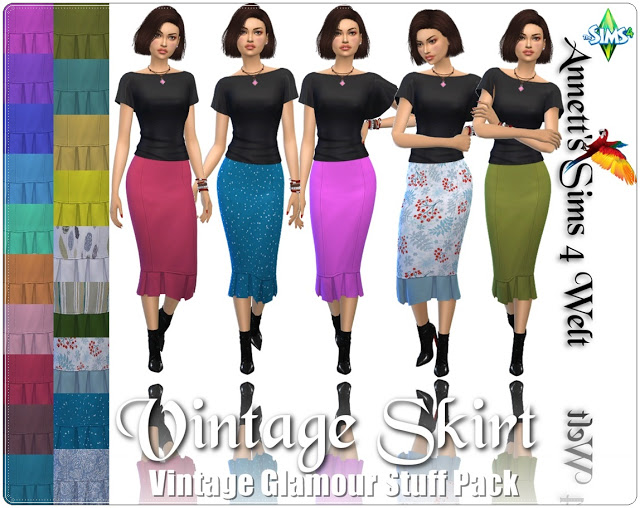 Vintage Glamour Skirt Recolors at Annett's Sims 4 Welt image 1131 Sims 4 Updates