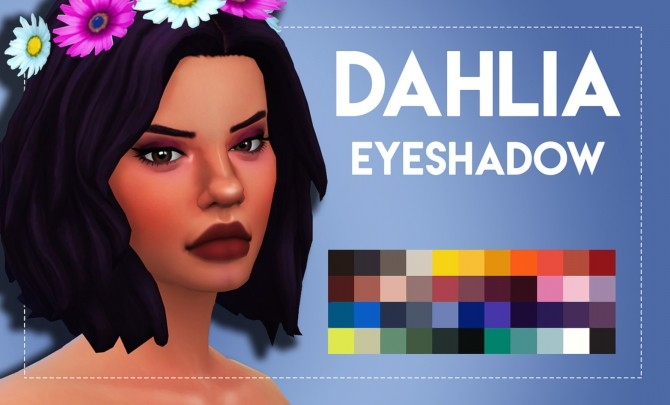 Dahlia Eyeshadow by Weepingsimmer at SimsWorkshop image 11313 670x405 Sims 4 Updates