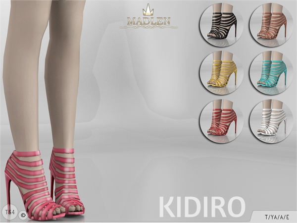 Sims 4 Madlen Kidiro Shoes by MJ95 at TSR